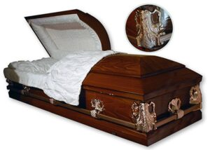 Barbadian Oval Top Casket