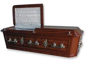 Barbadian Flat Top Casket