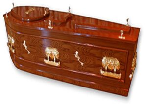 Three Piece Barbadian Casket